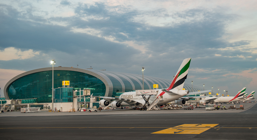 Аэропорт Дубая: схема