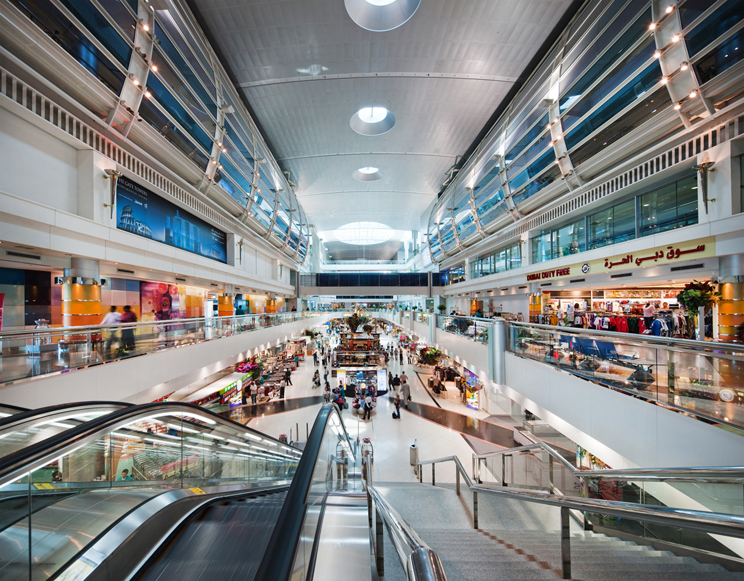 Терминал 1 аэропорта Дубая: