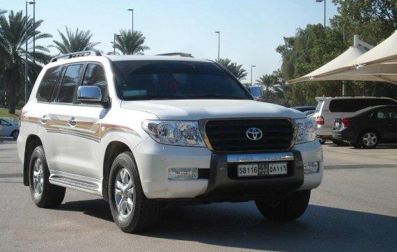 Тойота Прадо 150 в ОАЭ